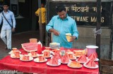 Diced fruit to feed thirsty city workers