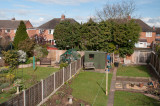 English backyards