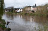 Fly fisherman at Bewdley
