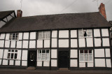 Tudor houses in Ombersley, near Worcester