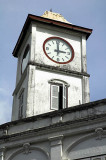 Clocktower on the Chartered Bank corner, Phuket Town