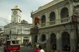 Chartered Bank corner in Phuket Town