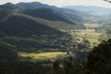 Look out above Mt Beauty township