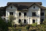 Colonial-era villa above the lake