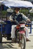 Burma/Myanmar: Three-wheeled transport, Tachileik