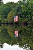 Day 5 - 20111003_66 Nashawinnuck Pond  - In The Mirror.JPG