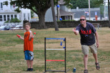 Family Reunion - Jeff & Andrew Ladder Ball