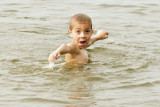 Family Reunion - Tyler in Water