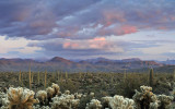 Four Peaks Wilderness Sunset 4