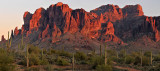 AZ - Superstition Mountains Pano
