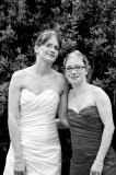 The Bride and Sister in Black and White