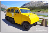 1st generation of snowmobile to Columbia Icefield Glacier