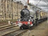 5043 lifts the train from the sidings at Carlisle 10.03.2012.jpg