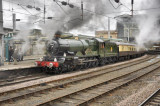 5043 Earl of Mount Edgcumbe prepares for departure from Carlisle 10.03.2012.jpg