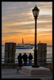 Battery Park Sunset