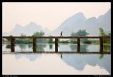 Crossing the Yulong River