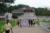 Approach to Temple of the Sacred Tooth Relic