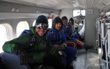 First sky diving at Puvirnituq -23C and no jump at Salluit (high windy) 11 to 15 april 2011