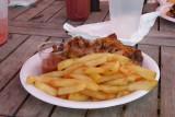 The jerk chicken - it was delicious!
