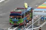 The local Banana Tour Bus
