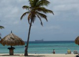 The beaches in Aruba are spectacular - and almost deserted!