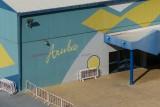 Cruise terminal in Oranjestad