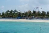 The beach at Margaritaville