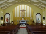 Inside St. Philomena Catholic Church