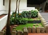 In the Santa Domingo courtyard