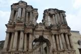 Facade of the former El Carmen church, circa 1638