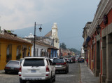 The streets of Antigua