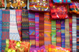 Colourful woven goods for sale