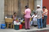 The locals take a lunch break