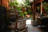 An Antiguan courtyard