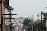 A street in Antigua.  I beleive the building in the background is the Church of St. Francis, built in 1542