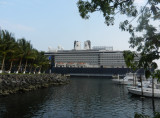 Our ship in port
