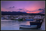 Atardecer en el puerto  -  Dusk in the port