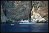 Barco en Isla Vedra -  Boat on Vedra Island