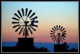 Molinos de viento  -  Windpumps