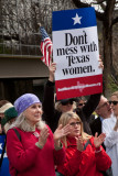 Planned Parenthood Rally in Dallas