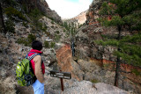 Toward the end of falls trail, bandelier