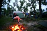 The comfort of home, Badlands KOA
