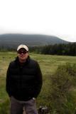 A misty Rocky Mountain National Monument
