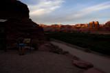 Sunset in Moab along Potash Road.