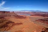 Canyon Lands(evaporitive ponds in the background)