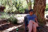 Our Primitive Camp, Moab Utah