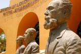 San Jose del Cabo town square statues