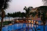 Dreams Los Cabos Pool Sunset
