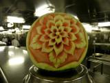 Westerdam fruit carving