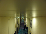 Westerdam Upper Promenade Deck Hallway